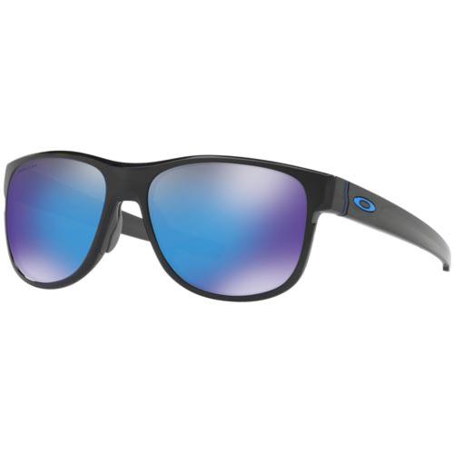 Oakley Crossrange R Sunglasses - Grey Smoke/Prizm Sapphire