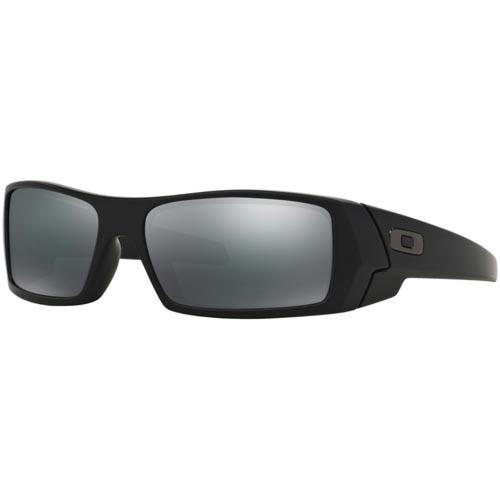 Oakley Gascan Sunglasses - Matte Black/Black Iridium